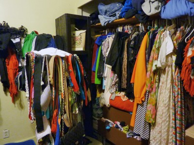Perfect Cluttered Closet